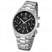 FESTINA Herren-Armbanduhr Timeless Chronograph Quarz Edelstahl silber UF16820/4