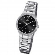 Festina Damen Armband-Uhr F20240/2 Quarz Edelstahl silber UF20240/2