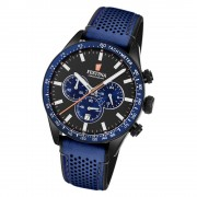 Festina Herren Armbanduhr The Originals F20359/2 Quarz Leder blau UF20359/2