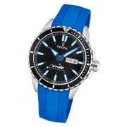 Festina Herren Armbanduhr The Originals F20378/3 Quarz PU blau UF20378/3