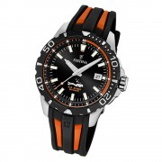 Festina Herren Armbanduhr The Originals F20462/3 Quarz schwarz orange UF20462/3