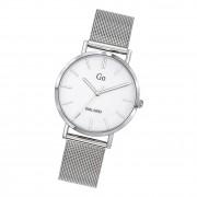 Girl Only Damen Armbanduhr GO 695255 Analog Quarz Uhr Edelstahl silber UGO695255