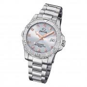 Jaguar Damen Armbanduhr Cosmopolitan J870/2 Analog Edelstahl silber UJ870/2