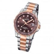 Jaguar Damen Armbanduhr Cosmopolitan J871/2 Edelstahl silber rosegold UJ871/2