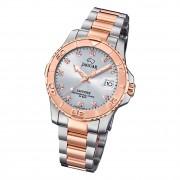 Jaguar Damen Armbanduhr Cosmopolitan J871/3 Edelstahl silber rosegold UJ871/3