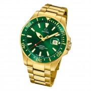 Jaguar Herren Armbanduhr Executive J877/2 Analog Edelstahl gold UJ877/2