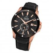 Jaguar Herren Armbanduhr ACM J882/1 Analog Leder schwarz UJ882/1