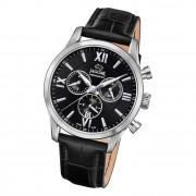 Jaguar Herren Armbanduhr ACM J884/4 Analog Leder schwarz UJ884/4