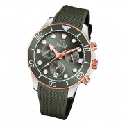 Jaguar Damen Armbanduhr Cosmopolitan J890/3 Chronograph Leder schwarz UJ890/3
