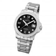 Jaguar Damen Armbanduhr Cosmopolitan J892/4 Analog Edelstahl silber UJ892/4