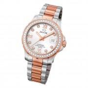 Jaguar Damen Armbanduhr Cosmopolitan J894/1 Analog Edelstahl silber rose UJ894/1