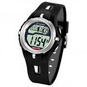 CALYPSO Herren-Armbanduhr Sport Chronograph Quarz-Uhr PU schwarz UK5511/1