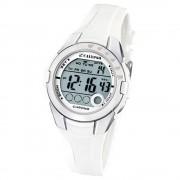 Calypso Jugenduhr Mädchen weiß-silber Digital Calypso Uhren UK5571/1