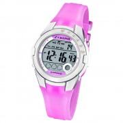 Calypso Jugenduhr Mädchen flieder-silber Digital Calypso Uhren UK5571/3