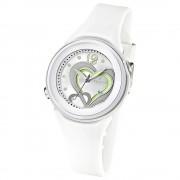 CALYPSO Damen-Armbanduhr Fashion analog Quarz-Uhr PU weiß UK5576/1
