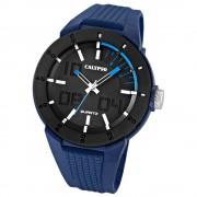 Calypso Herrenuhr PVD schwarz-blau Analog Uhren Kollektion UK5629/3