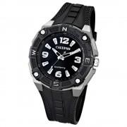 Calypso Herrenuhr Quartz schwarz-grau Analog Uhren Kollektion UK5634/1