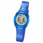Calypso Damen-Armbanduhr Dame/Boy digital Quarz PU blau UK5677/5