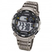Calypso Herren-Armbanduhr Digital for Man digital Quarz PU grau UK5702/1