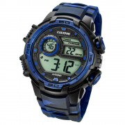 Calypso Armbanduhr Herren Digital for Man K5723/1 Quarzuhr schwarz blau UK5723/1