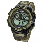 Calypso Herrenuhr Digital for Man K5723/6 Quarzuhr schwarz braun UK5723/6