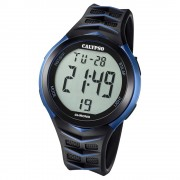 Calypso Armbanduhr Herren Digital for Man K5730/2 Quarz PU schwarz blau UK5730/2