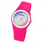 Calypso Damen Armbanduhr Trendy K5754/5 Quarzwerk-Uhr PU pink UK5754/5