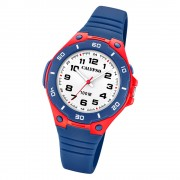Calypso Kinder Armbanduhr Sweet Time K5758/1 Quarz-Uhr PU blau UK5758/1