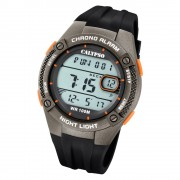 Calypso Herren Armbanduhr Digital Crush K5765/4 Quarz-Uhr PU schwarz UK5765/4