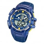 Calypso Herren Armbanduhr Street Style K5767/2 Quarz-Uhr PU blau UK5767/2