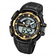 Calypso Herren Armbanduhr Street Style K5767/4 Quarz-Uhr PU schwarz UK5767/4