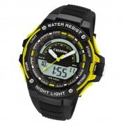 Calypso Herren Armbanduhr Street Style K5768/1 Quarz-Uhr PU Schwarz UK5768/1