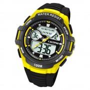 Calypso Herren Armbanduhr Street Style K5770/1 Quarz-Uhr PU schwarz UK5770/1