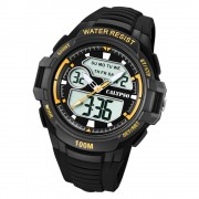 Calypso Herren Armbanduhr Street Style K5770/4 Quarz-Uhr PU schwarz UK5770/4