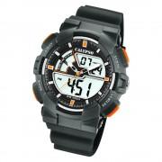 Calypso Herren Armbanduhr Street Style K5771/4 Quarz-Uhr PU grau UK5771/4