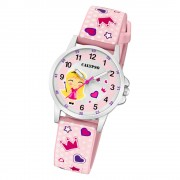 Calypso Kinder Armbanduhr Junior K5776/2 Quarzwerk-Uhr PU rosa UK5776/2