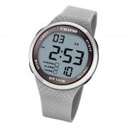 Calypso Herren Jugend Armbanduhr Sport K5785/1 Digital Kunststoff grau UK5785/1