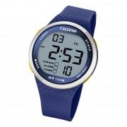 Calypso Herren Jugend Armbanduhr Sport K5785/3 Digital Kunststoff blau UK5785/3