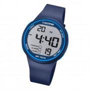 Calypso Herren Armbanduhr Sport K5795/3 Digital Kunststoff blau UK5795/3