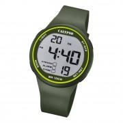 Calypso Herren Armbanduhr Sport K5795/5 Digital Kunststoff grün UK5795/5