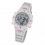 Calypso Damen Armbanduhr Sport K5801/1 Digital Kunststoff grau UK5801/1