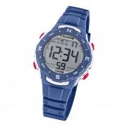 Calypso Damen Herren Armbanduhr K5801/5 Digital Kunststoff dunkelblau UK5801/5