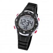 Calypso Damen Herren Armbanduhr K5801/6 Digital Kunststoff schwarz UK5801/6
