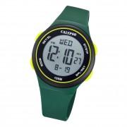Calypso Herren Armbanduhr Fashion K5804/1 Digital Kunststoff dunkelgrün UK5804/1