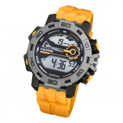 Calypso Herren Armbanduhr Outdoor K5809/1 Digital Kunststoff gelb UK5809/1