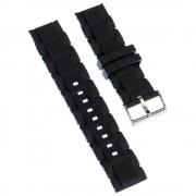 Calypso Herren Uhrenarmband 22mm PU-Band schwarz für Calypso K5577 UKA5577/S