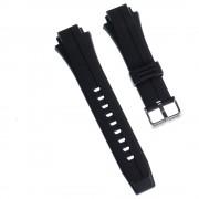Calypso Herren Uhrenarmband 17mm Kautschuk-Band schwarz für Calypso K5606 UKA5606/S
