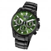 LOTUS Herren Armbanduhr Khrono 10141/1 Quarz Edelstahl schwarz UL10141/1