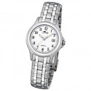 LOTUS Damenuhr klassisch Analog Quarz Uhr Edelstahl Armband silber UL15151/A