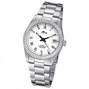 LOTUS Damenuhr Typ R. Analog Quarz Uhr Edelstahl Armband silber UL15196/1